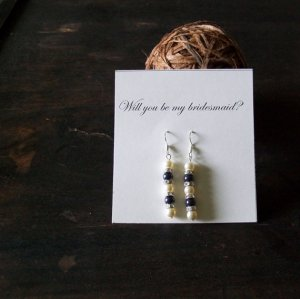 Bridesmaid Earrings 1