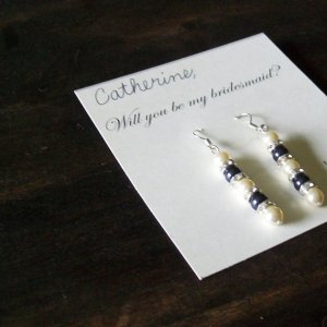 Bridesmaid Earrings to Catherine 2