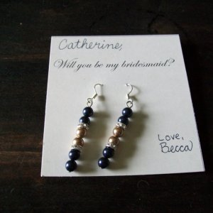 Bridesmaid Earrings to Catherine